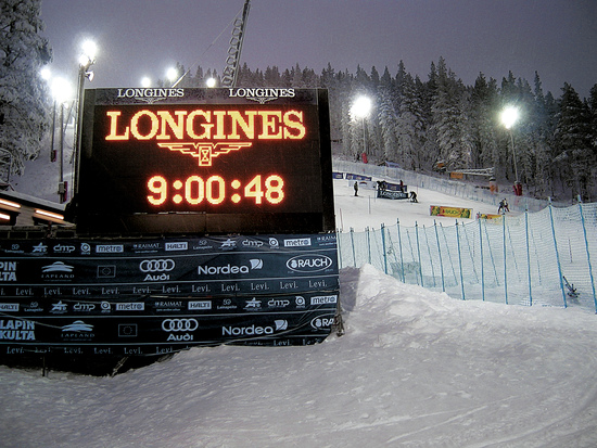 Longines Alpine Skiing Event: Longines and alpine skiing – a successful partnership continues (Levi, FINLAND)  8