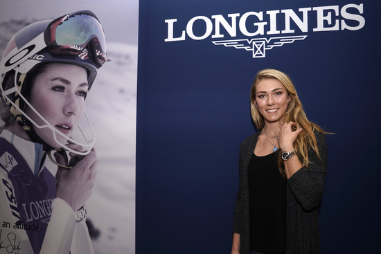 Longines Conquest Chronograph by Mikaela Shiffrin Watch 1