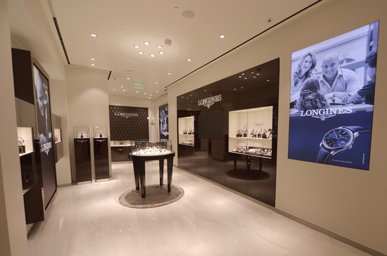 Longines Corporate Event: Andre Agassi and Stefanie Graf inaugurate Longines' new sales corner in Las Vegas  5