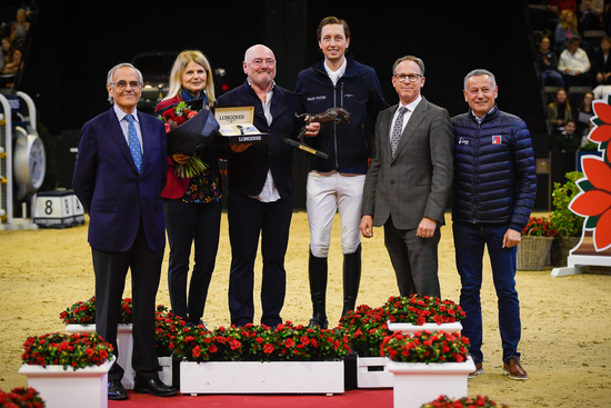 Longines Show Jumping Event: Luigi Baleri is the 2019 Longines Owner of the Year 3