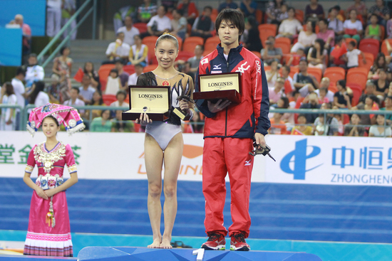 Longines Gymnastics Event: Longines celebrates elegance and performance at the 45th Artistic Gymnastics World Championships in Nanning (Nanning, CHINA)  3