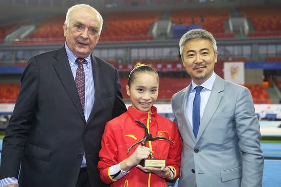 Longines Gymnastics Event: Longines celebrates elegance and performance at the 45th Artistic Gymnastics World Championships in Nanning (Nanning, CHINA)  6