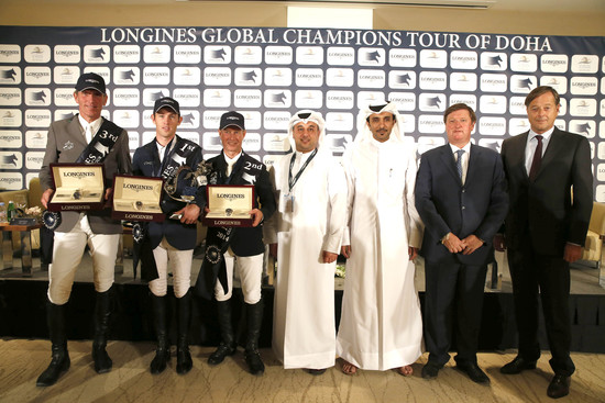Longines Show Jumping Event: Doha hosts the climax of the Longines Global Champions Tour 2014 3