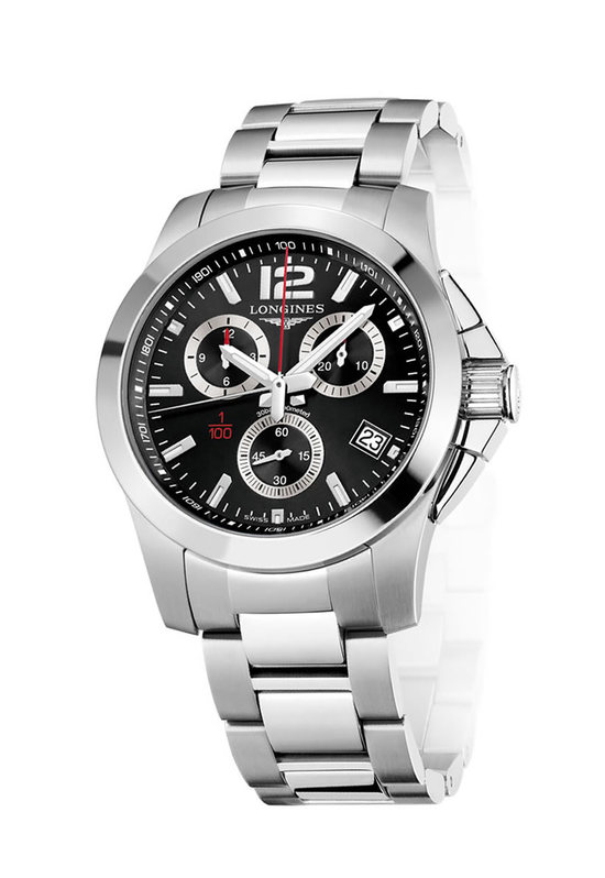Longines Conquest 1/100th Alpine Skiing Watch 1