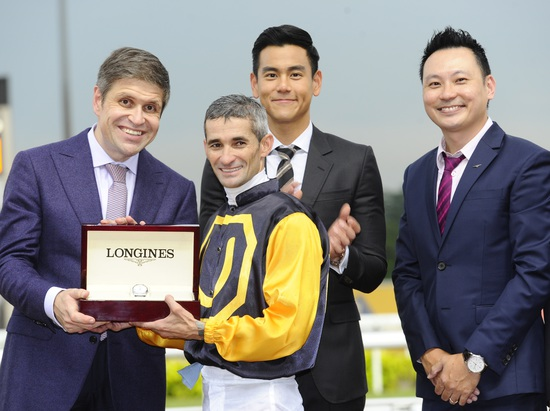 Longines Flat Racing Event: LONGINES SINGAPORE GOLD CUP 2014 RAISES S$241,616 FOR CHARITY (Singapore, SINGAPORE)  2