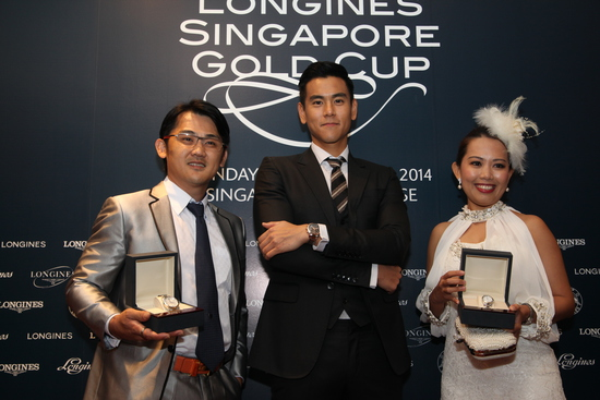Longines Flat Racing Event: LONGINES SINGAPORE GOLD CUP 2014 RAISES S$241,616 FOR CHARITY (Singapore, SINGAPORE)  3