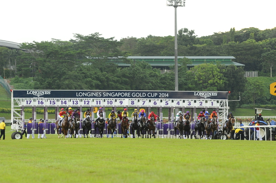 Longines Flat Racing Event: LONGINES SINGAPORE GOLD CUP 2014 RAISES S$241,616 FOR CHARITY (Singapore, SINGAPORE)  12
