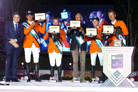 Longines Show Jumping Event: Team Netherlands closes the season with a thrilling victory at the Furusiyya FEI Nations Cup™ Jumping Final (Barcelona, SPAIN)  8