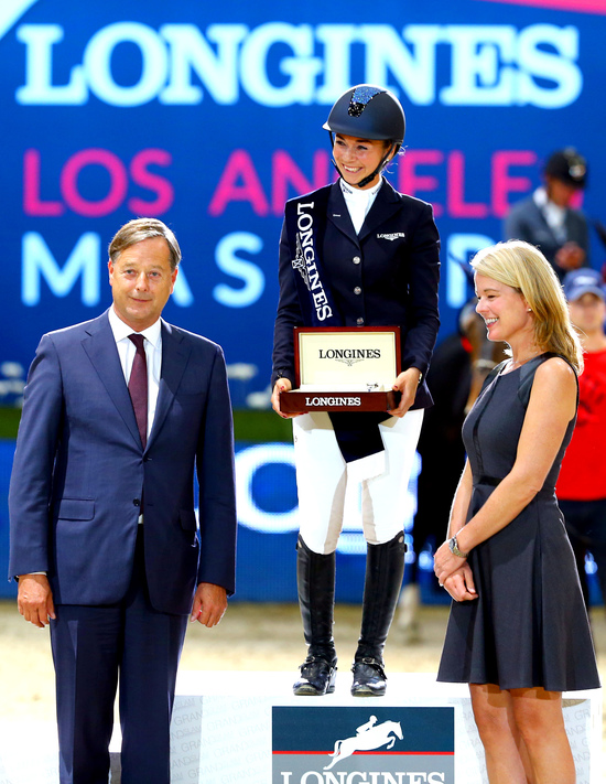 Longines Show Jumping Event: The first Longines Los Angeles Masters (Los Angeles Masters, UNITED STATES (THE))  2
