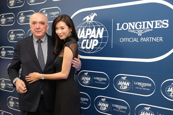 Longines Flat Racing Event: Christophe Soumillon on Epiphaneia wins the Japan Cup in association with Longines 2