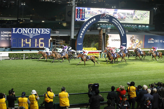 Longines Flat Racing Event: Remarkable victory of Yuichi Fukunaga at the Longines International Jockey's Championship 2014 8