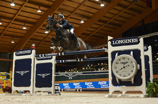Longines Show Jumping Event: Superb victory of Leopold van Asten riding VDL Groep Zidane at the Longines Grand Prix of CSI A Coruña's winter edition 1
