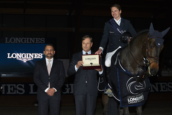 Longines Show Jumping Event: Superb victory of Leopold van Asten riding VDL Groep Zidane at the Longines Grand Prix of CSI A Coruña's winter edition 2