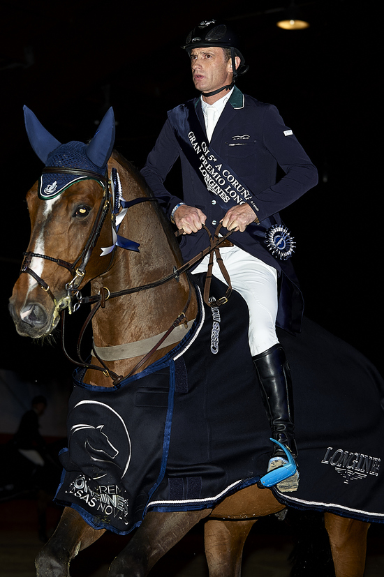 Longines Show Jumping Event: Superb victory of Leopold van Asten riding VDL Groep Zidane at the Longines Grand Prix of CSI A Coruña's winter edition 3