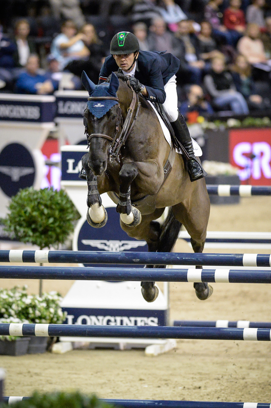 Longines Show Jumping Event: Luciana Diniz (POR) wins the Longines Grand Prix of the Longines CSI Basel 3