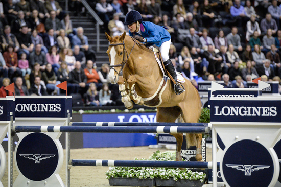 Longines Show Jumping Event: Luciana Diniz (POR) wins the Longines Grand Prix of the Longines CSI Basel 4