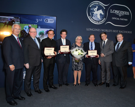 Longines Flat Racing Event: Just A Way honoured as the 2014 Longines World's Best Racehorse  5
