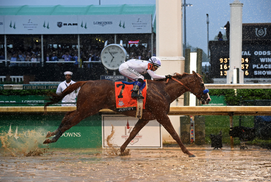 Longines Flat Racing Event: Longines Honors Justify's Kentucky Derby Victory  5