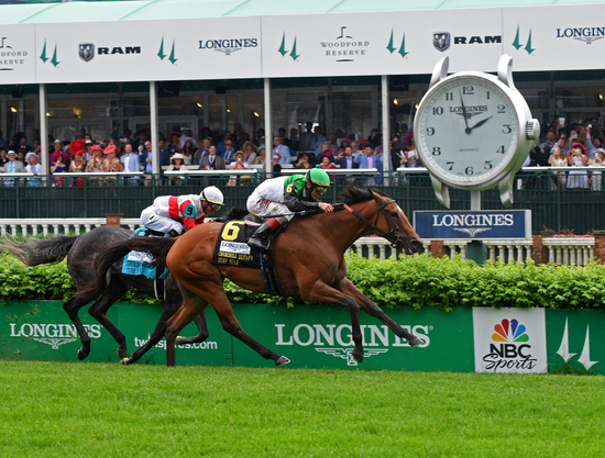 Longines Flat Racing Event: Longines Honors Justify's Kentucky Derby Victory  4