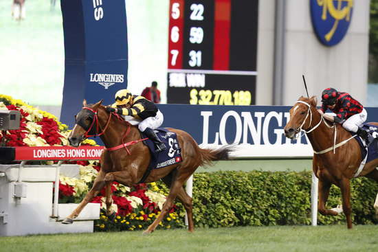 Longines Flat Racing Event: The Longines Hong Kong International Races:  four races, four chances to become a legend 1
