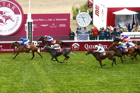 Longines Flat Racing Event: Longines times the Qatar Prix de l'Arc de Triomphe  back at ParisLongchamp 3