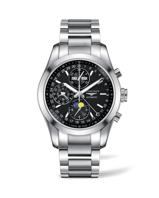 Longines Conquest Classic Moonphase Watch 10