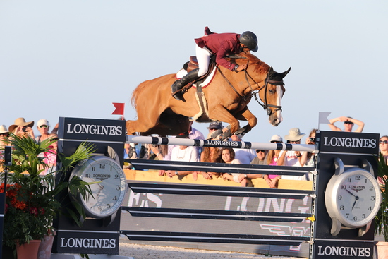 Longines Show Jumping Event: The first edition of the Longines Global Champions Tour of Miami Beach 2