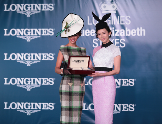 Longines Flat Racing Event: Victory of Craig Williams on Criterion at the Longines Queen Elizabeth Stakes  1