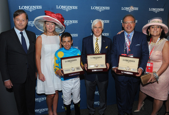 Longines Flat Racing Event: American Pharoah gallops to victory in front of record crowd at the 141st Kentucky Derby  3