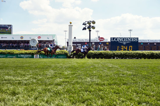Longines Flat Racing Event: American Pharoah gallops to victory in front of record crowd at the 141st Kentucky Derby  6