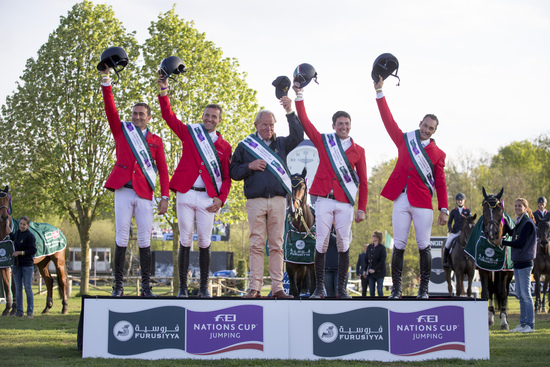 Longines Show Jumping Event: Team Italy dominated the 2015 Longines Spring Classic of Flanders  2