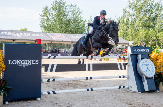 Longines Show Jumping Event: Patrick Lam on Vainqueur wins again in Chaoyang Park finishing first of the Longines FEI World CupTM Jumping China League 2nd leg 1
