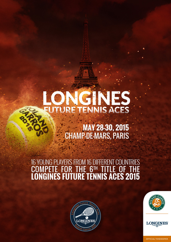 Longines  Event: Longines Future Tennis Aces 2015: a meeting of talented young players in the heart of Paris 10