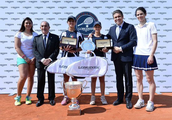 Longines  Event: Longines Future Tennis Aces 2015: a meeting of talented young players in the heart of Paris 8