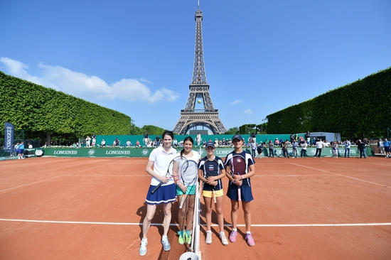 Longines  Event: Longines Future Tennis Aces 2015: a meeting of talented young players in the heart of Paris 6