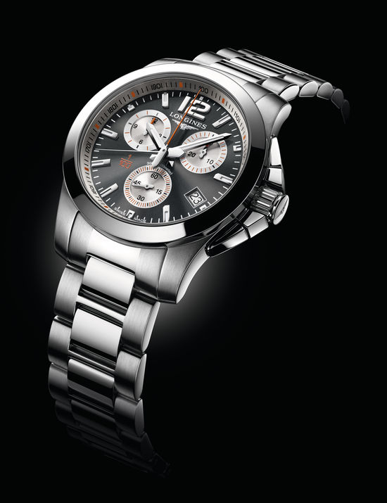 Longines Conquest 1/100th Roland Garros Watch 2