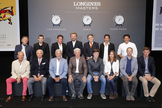 Longines Show Jumping Event: Longines becomes the Title Partner of the Longines Masters 1