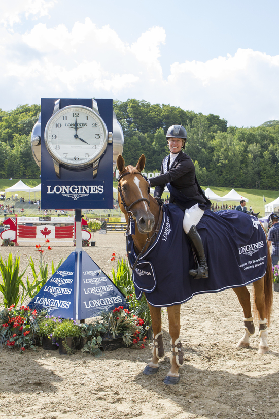 Longines Show Jumping Event: Longines FEI World Cup Jumping North American League at Bromont, Canada  1