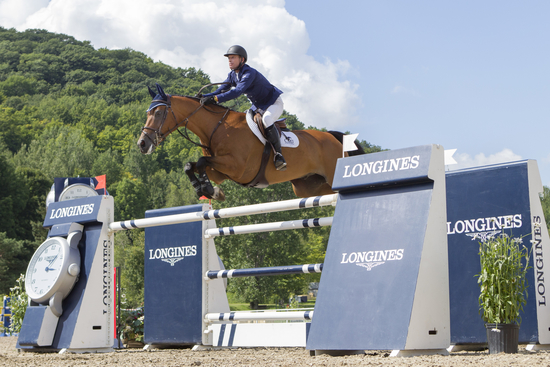 Longines Show Jumping Event: Longines FEI World Cup Jumping North American League at Bromont, Canada  2