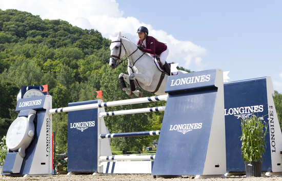 Longines Show Jumping Event: Longines FEI World Cup Jumping North American League at Bromont, Canada  3