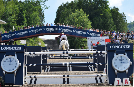 Longines Show Jumping Event: Longines FEI World Cup Jumping North American League at Bromont, Canada  4
