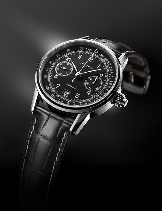 Longines The Longines Column-Wheel Single Push-Piece Chronograph  Watch 5