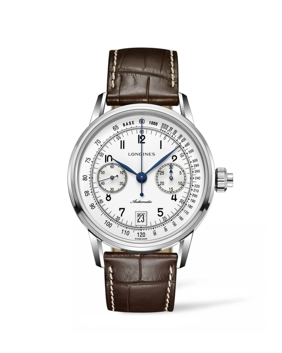 Longines The Longines Column-Wheel Single Push-Piece Chronograph  Watch 6