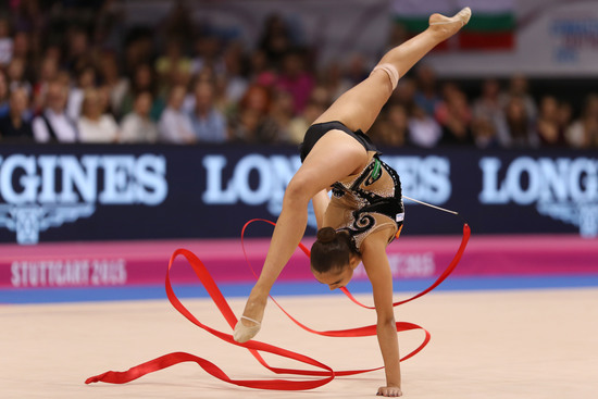 Longines Gymnastics Event: Margarita Mamun awarded with the Longines Prize for Elegance at the 34th Rhythmic Gymnastics World Championships 2015 1