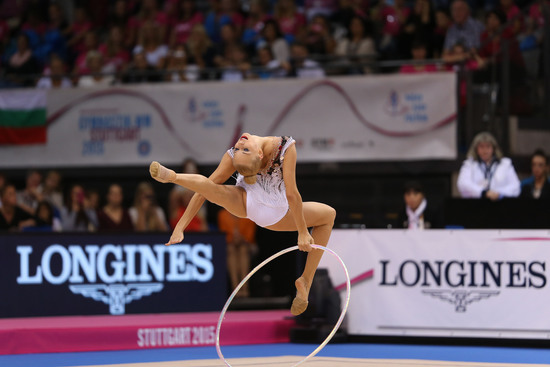 Longines Gymnastics Event: Margarita Mamun awarded with the Longines Prize for Elegance at the 34th Rhythmic Gymnastics World Championships 2015 5