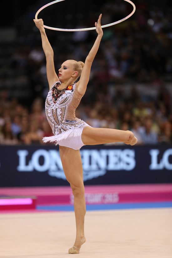 Longines Gymnastics Event: Margarita Mamun awarded with the Longines Prize for Elegance at the 34th Rhythmic Gymnastics World Championships 2015 6