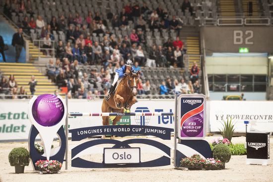Longines Show Jumping Event: French riders rule the first leg of the Longines FEI World Cup™ Jumping in Oslo 3