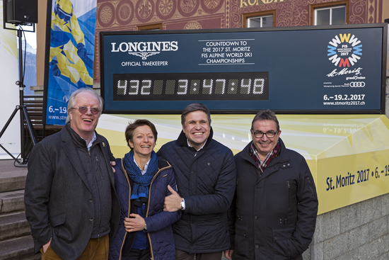 Longines Alpine Skiing Event: Longines announces its partnership with the Swiss alpine resort St. Moritz 1