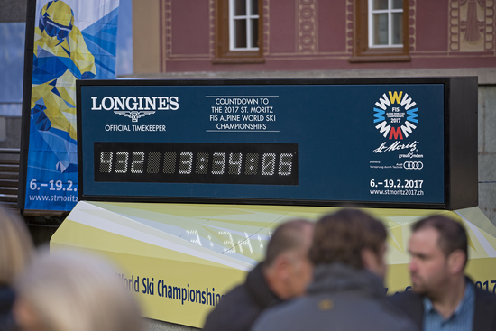 Longines Alpine Skiing Event: Longines announces its partnership with the Swiss alpine resort St. Moritz 2