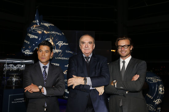 "Longines Flat Racing Event: Lanfranco ""Frankie"" Dettori honoured at the second Longines World's Best Jockey Award ceremony 2"